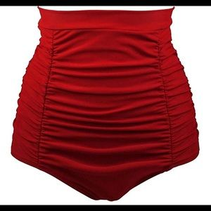 New with original packaging. Red XXXL swim bottoms